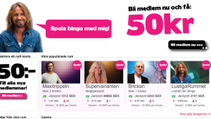ahabingo 50 kr gratis